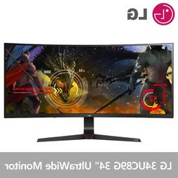"LG 34UC89G 34"" Class 21:9 UltraWide IPS 144Hz Curved Gaming"