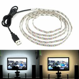 5V USB Cable 2835 LED Strip String lamp TV PC Monitor Backli