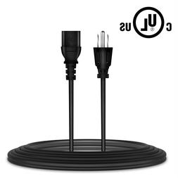6ft UL Listed AC Power Cord Cable Lead for AOC 193W H902W 19