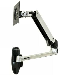 lx wall mount monitor arm 45 243