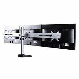 FLEXIMOUNTS M15 Triple LCD Arm Desk Monitor Mount for 10''-2