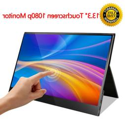 "New 13.3"" IPS 1080P USB Type-C USB-C Ultra Touch Screen Port"