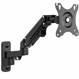 VIVO Premium Aluminum Single LCD Monitor Wall Mount Arm for