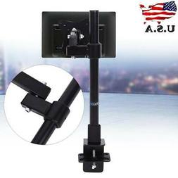 Single Arm Monitor Desk Mount Computer TV Screen Bracket Sta