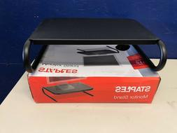 "Staples Steel Monitor Stand, 21"", New in box"