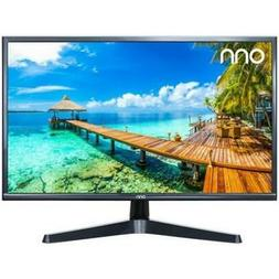 onn. VGA HDMI 60hz FHD Slim Design Monitor, 1080p, 24""